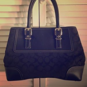 Black Authentic Coach Purse